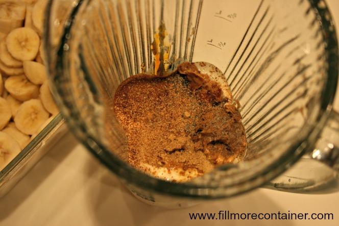 Gingerbread Smoothie Blender