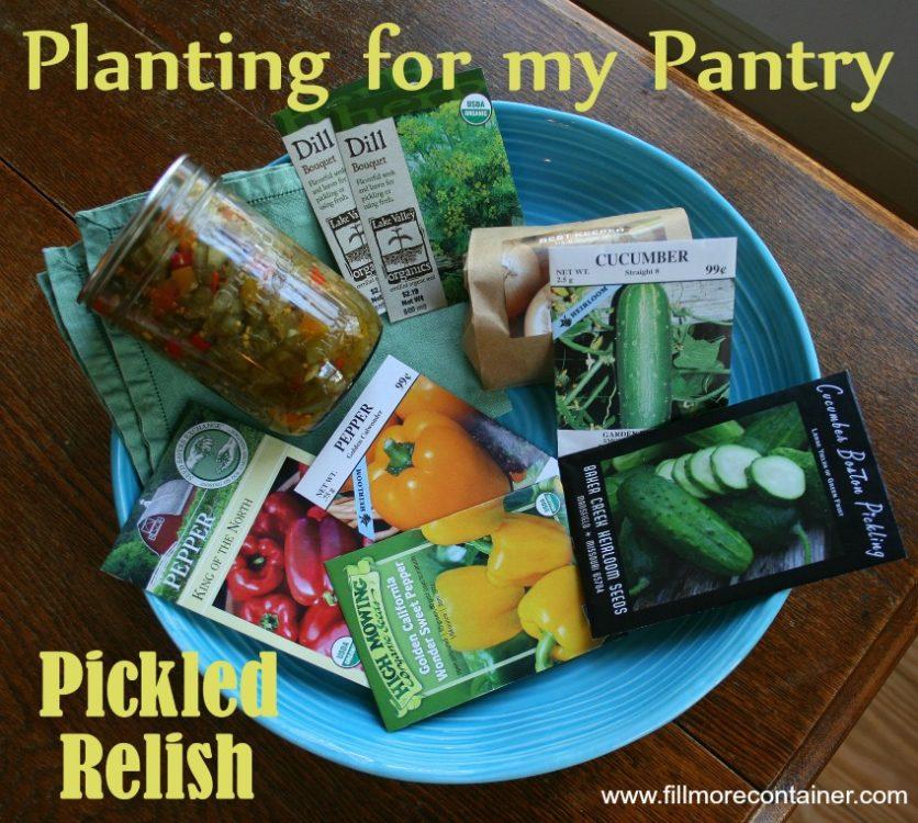 Planting a Relish Garden