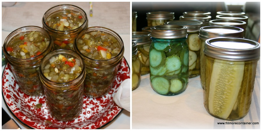 Relish and pickles