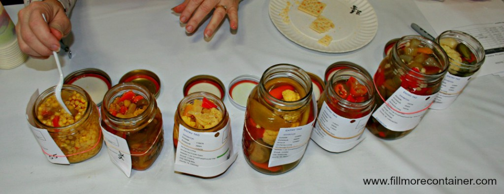 Judging Pickled Mixed Vegetables 2015