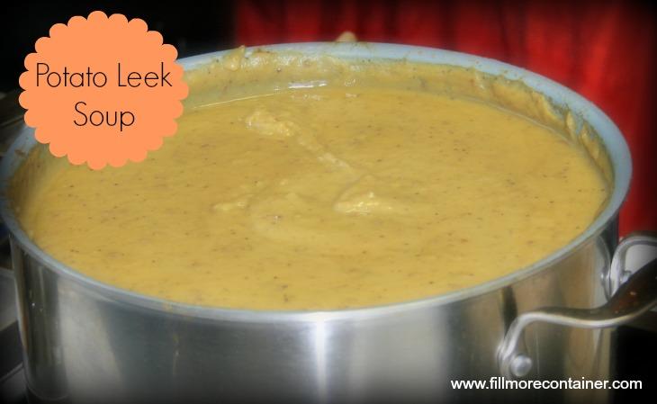 BlogPotato Leek Soup with Sean